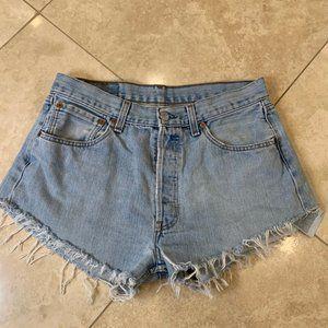 "Levi 501 shorts ""urban renewal"""